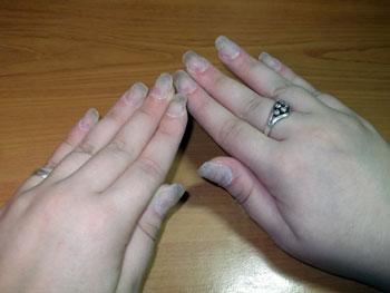Снять нарощенные ногти на типсах в домашних условиях 770