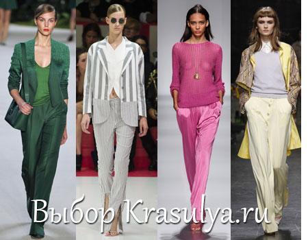 Модные Женские Брюки За 2013 Год