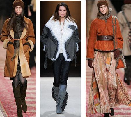 Модные дубленки 2011 2012 все о моде