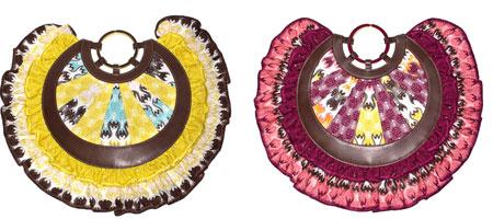 Необычные круглые сумки-клатчи от Миссони.  Любителям романтики и...
