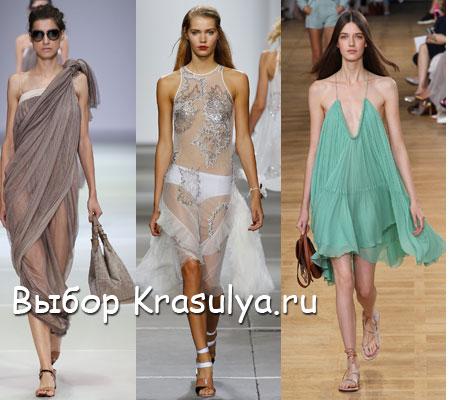 Летние платья и сарафаны 2015