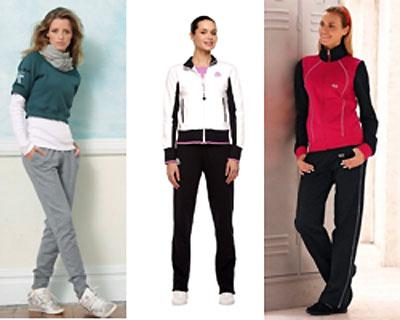 Девушки фото в спортивной одежды
