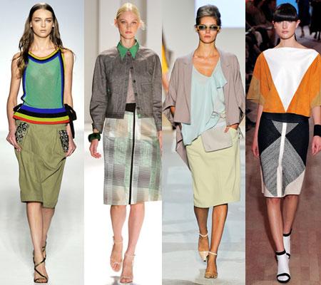 Создавая модные сумки весна- лето 2012, дизайнеры использовали прием...