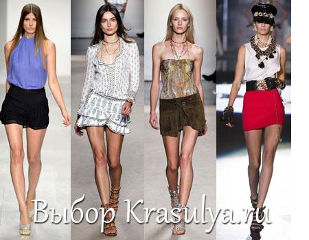 Длинная или короткая, юбка клеш или облегающая - все эти фасоны будут модными в теплый сезон 2013
