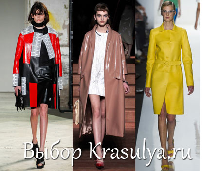 Модные Пальто Весна 2013