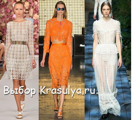 Модное лето, модные тенденции лета