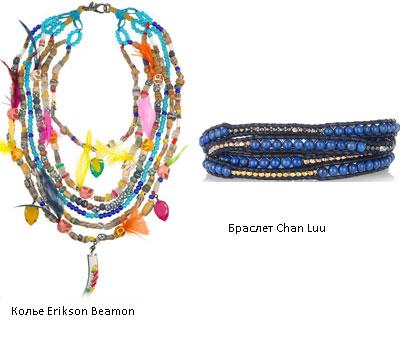 Ожерелья в стиле бохо своими руками