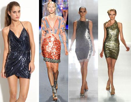 Стиль диско в весенних коллекциях одежды 2012.