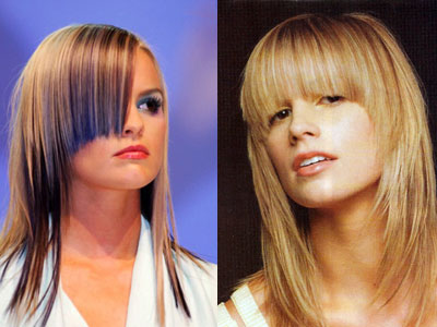 Стрижки 2011 на средние волосы фото