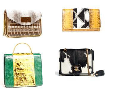 Необычайно востребованными будут модные сумки 2012 со змеиным принтом.