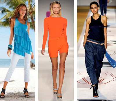 Топы и футболки 2011 в стиле минимализма прекрасно смотрятся с яркими...