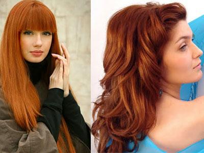 Модный цвет волос в 2012 году.