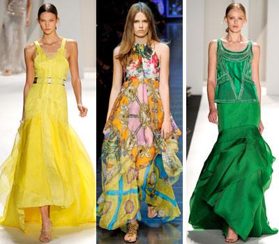 построение выкройки летнего платья