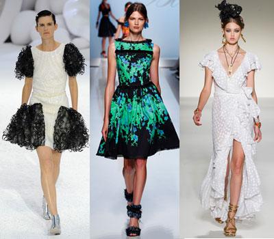 Очень актуально в новом сезоне надевать платья с ретро мотивами.
