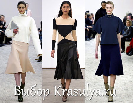 Мода Осень 2014 Юбки
